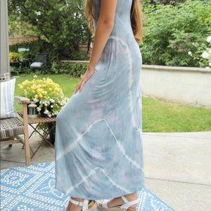 Billabong Tie Dye Maxi Sundress